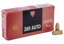 .380 Auto (9mm Short) – 95gr – FMJ – 50/box