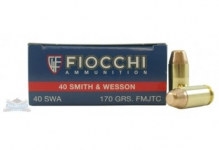 .40S&W – 170gr – FMJTC – 50/box