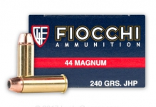 .44 Magnum – 250gr – JHP – 50/box