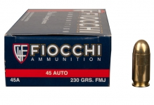 .45ACP – 230gr – FMJ – 50/box