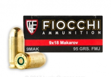 9mm Makarov – 95gr – 100/box