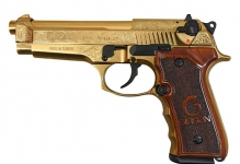REGARD GOLD PLATED 2MAG 9MM